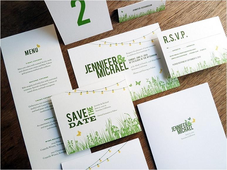 empapers Hochzeitseinladung Garten-Party