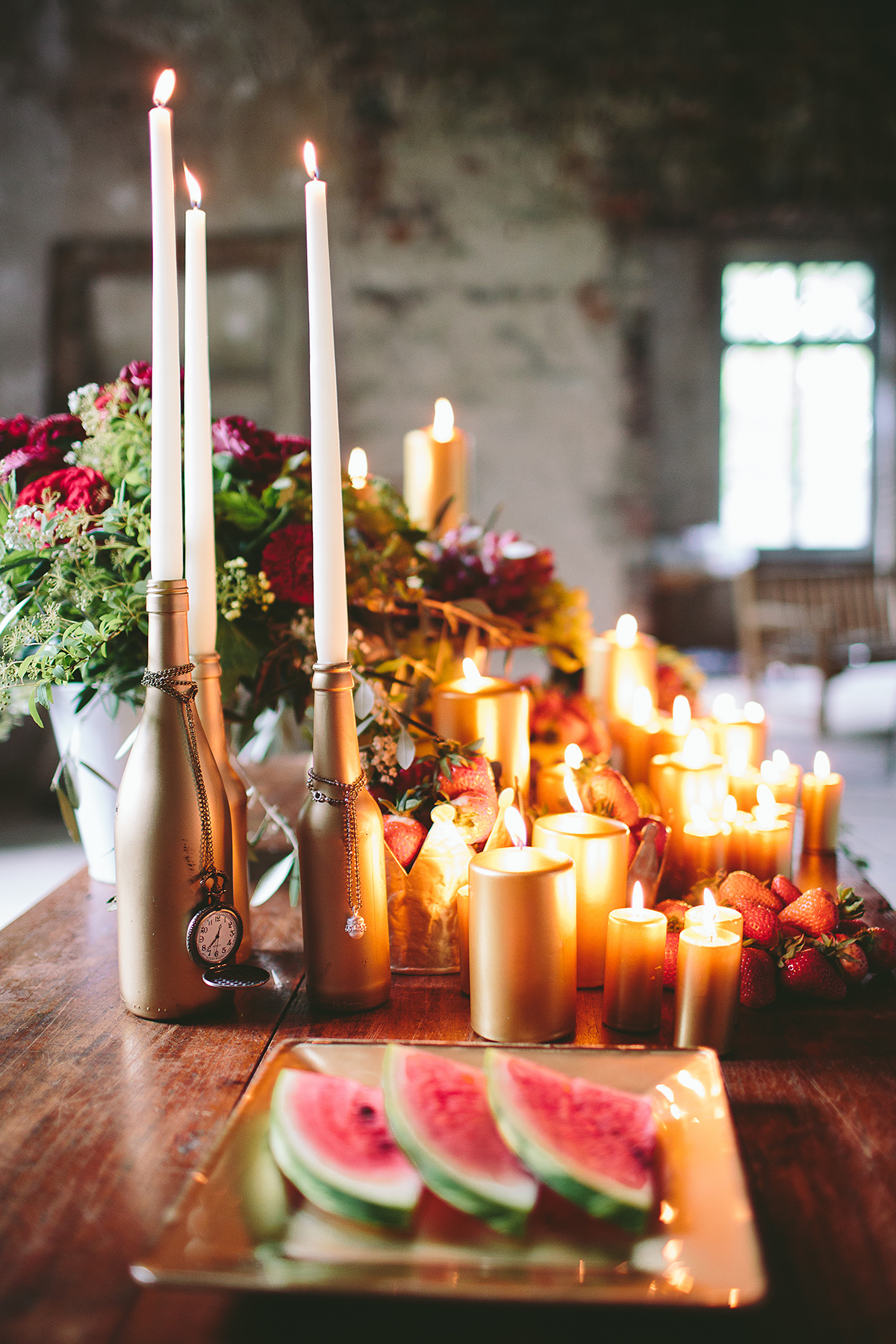Styled Shooting Rustikale opulenz