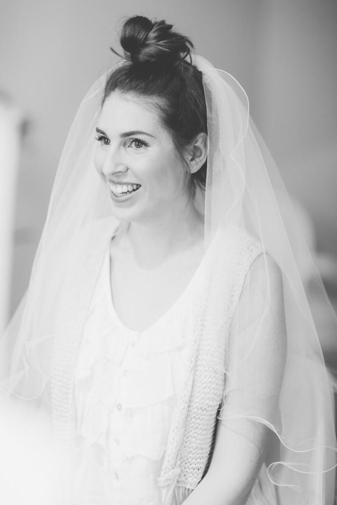 Teresa und Mirko heiraten - das Brautstyling