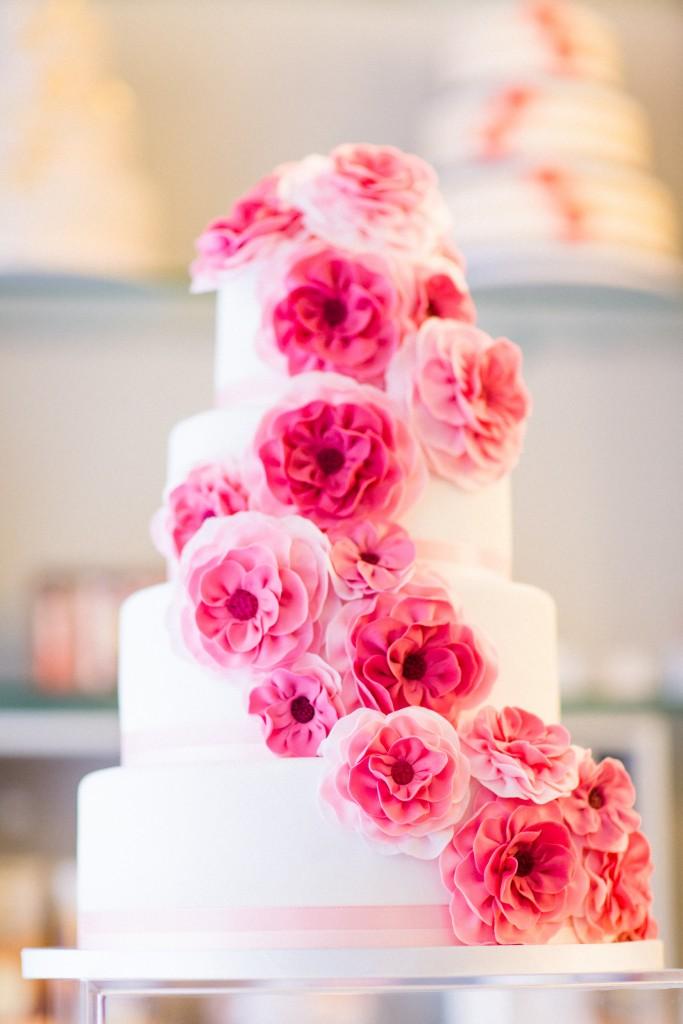 Teresa und Mirko heiraten - die Hochzeitstorte