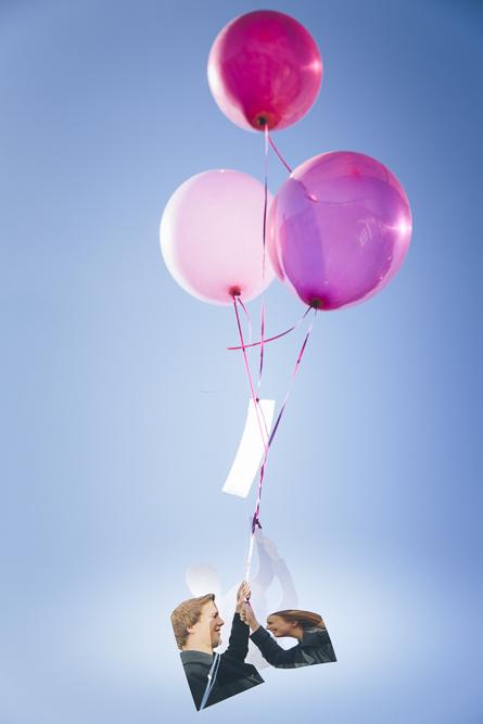 Ballonanhänger DIY