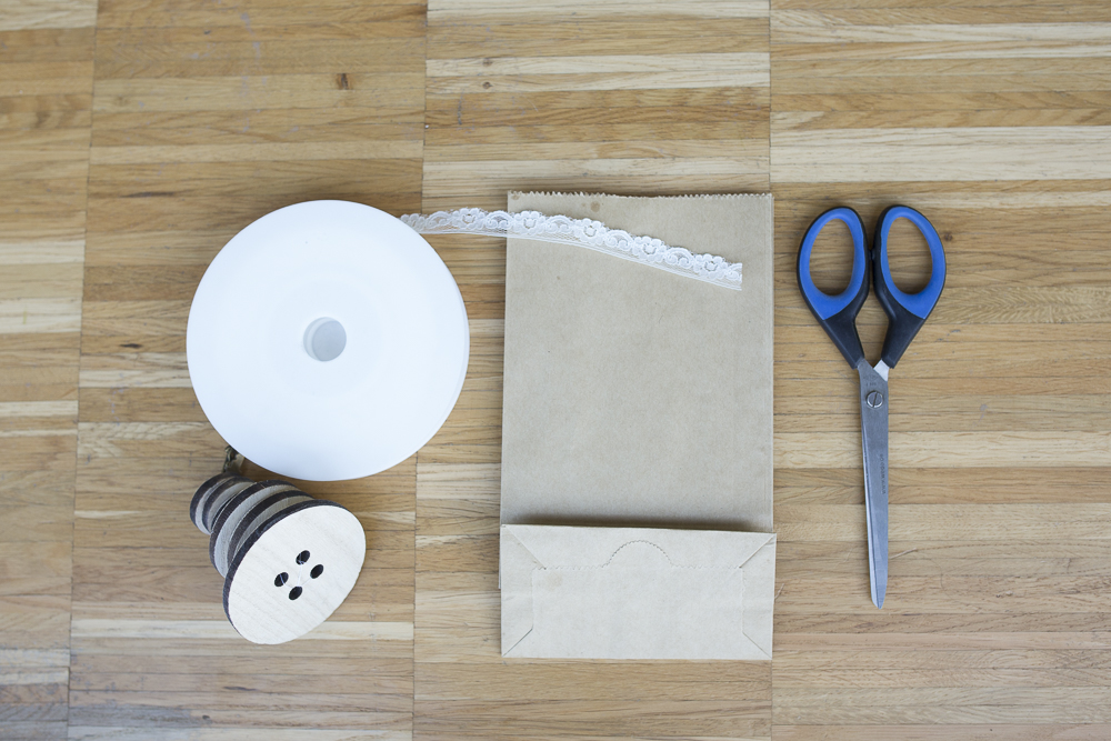 Tischdekoration DIY - Vintage