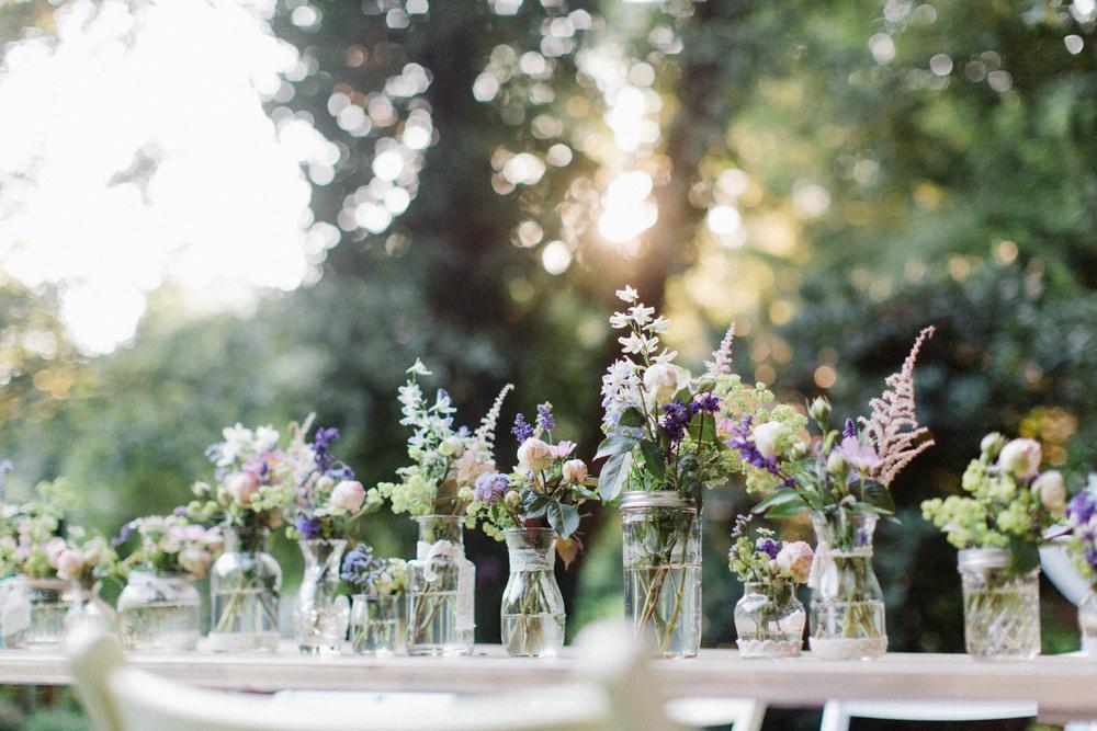 Sommerliche Hochzeit auf dem Land
