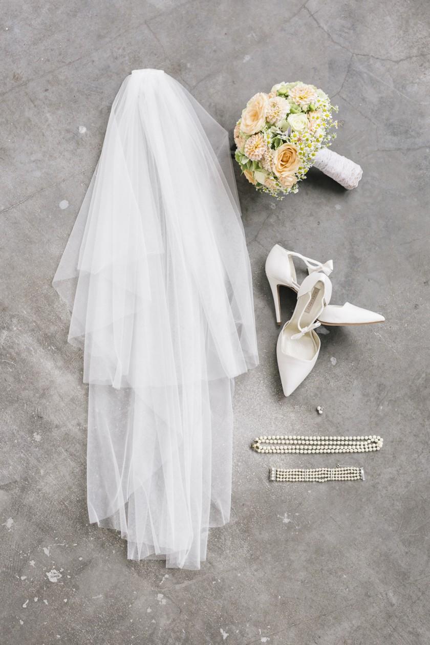 1 Brautkleid - 6 Looks