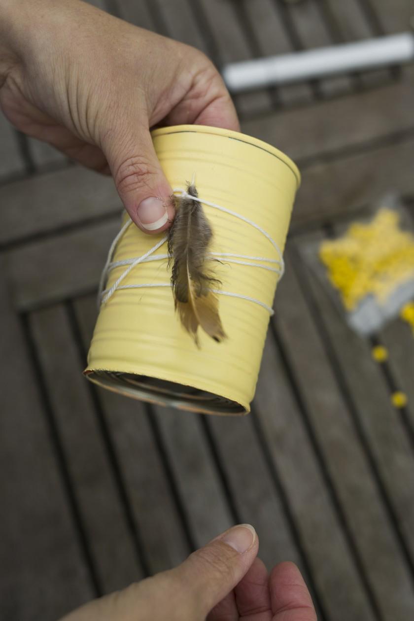 Heiraten im Boho-Stil - DIY Vasen