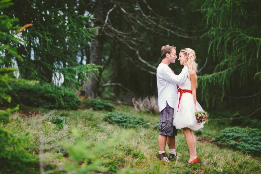 Traumhafte Almhochzeit von Alexandra & Erhard
