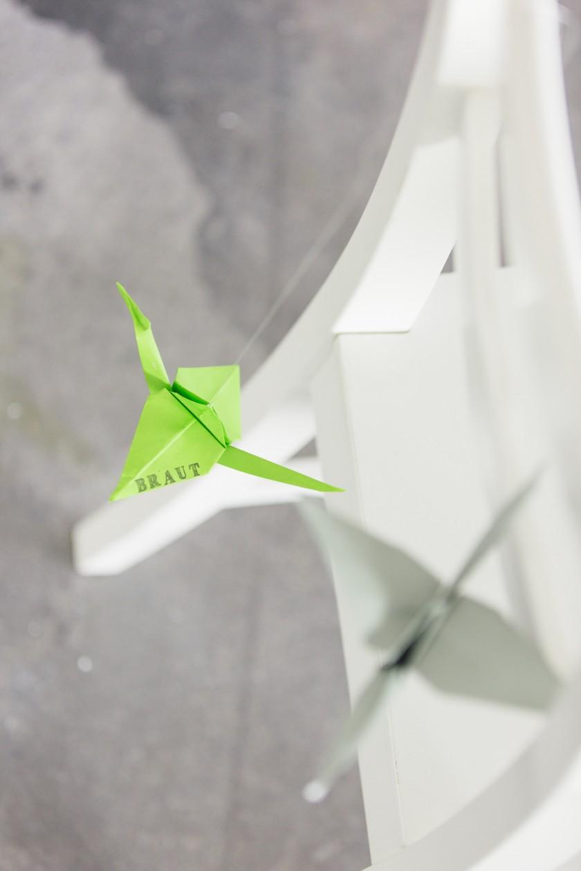 Lasst Kraniche fliegen - ein DIY