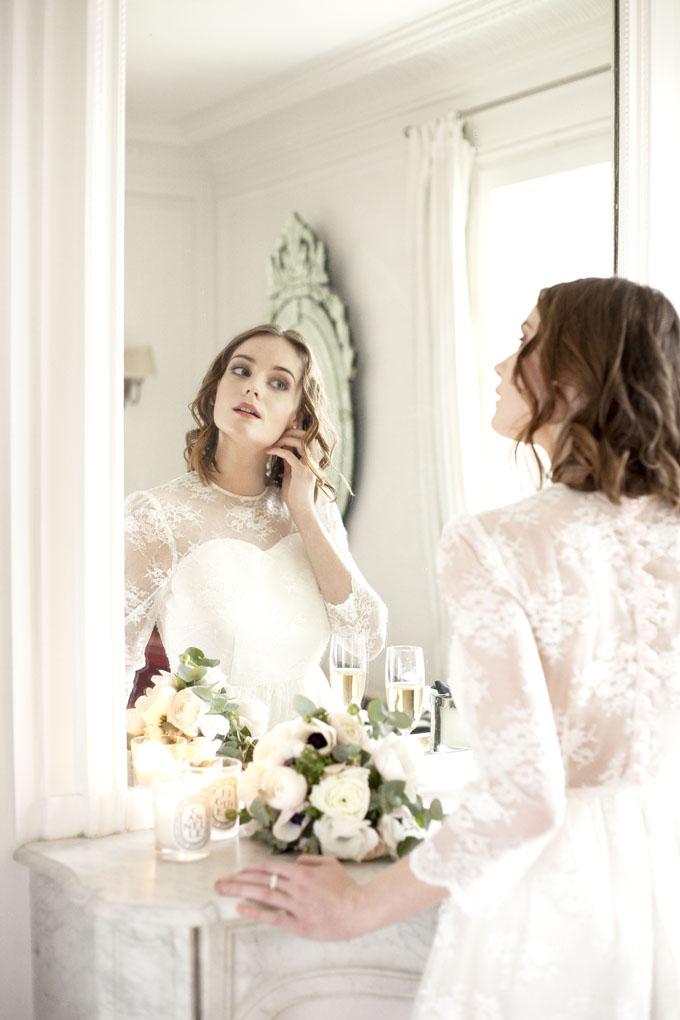 Schöne Brautkleider von Alexandra Paris