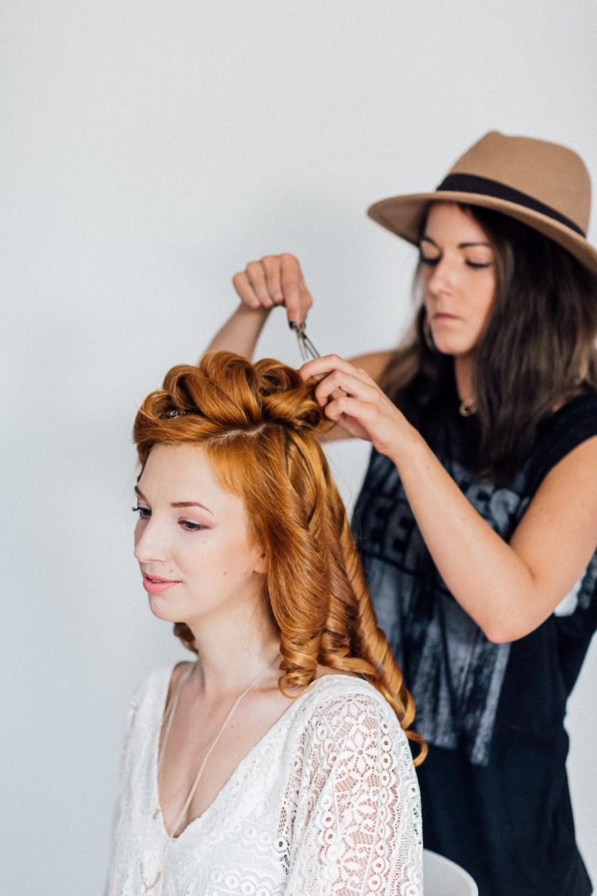 Brautfrisuren und Make up Trends für 2017