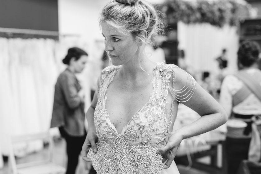 Brautkleid, Haarschmuck und Musik - das war unser #brautflüstern Nachmittag