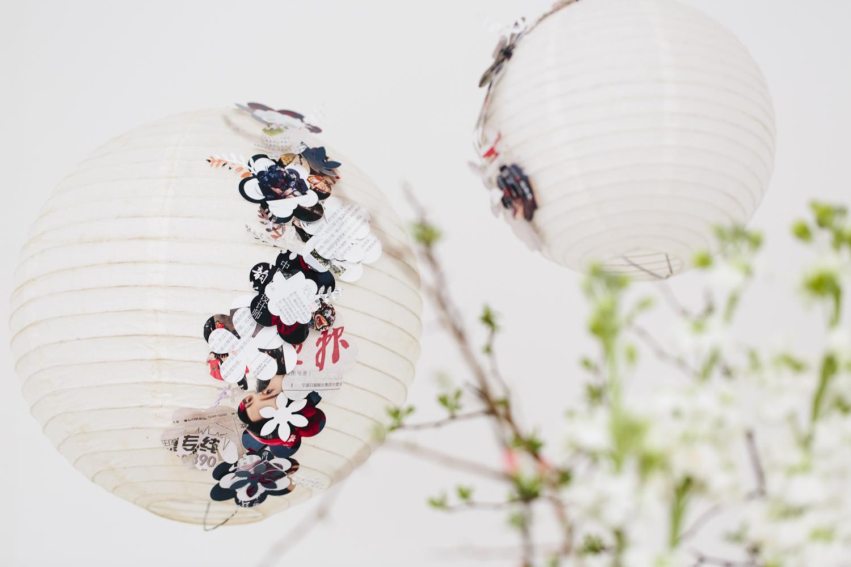 Wie wäre es mal mit einer asiatischen Hochzeitsdekoration ?