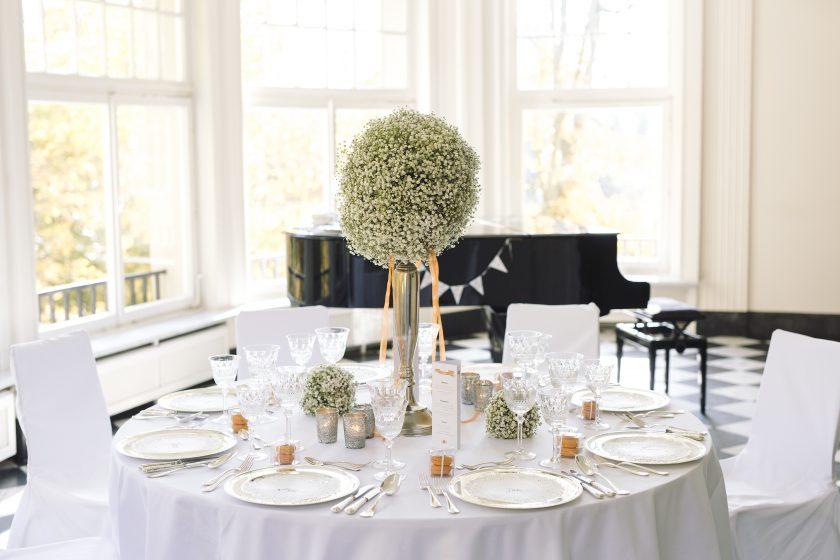 Wieviel Material brauche ich eigentlich für meine Hochzeitsdekoration ?