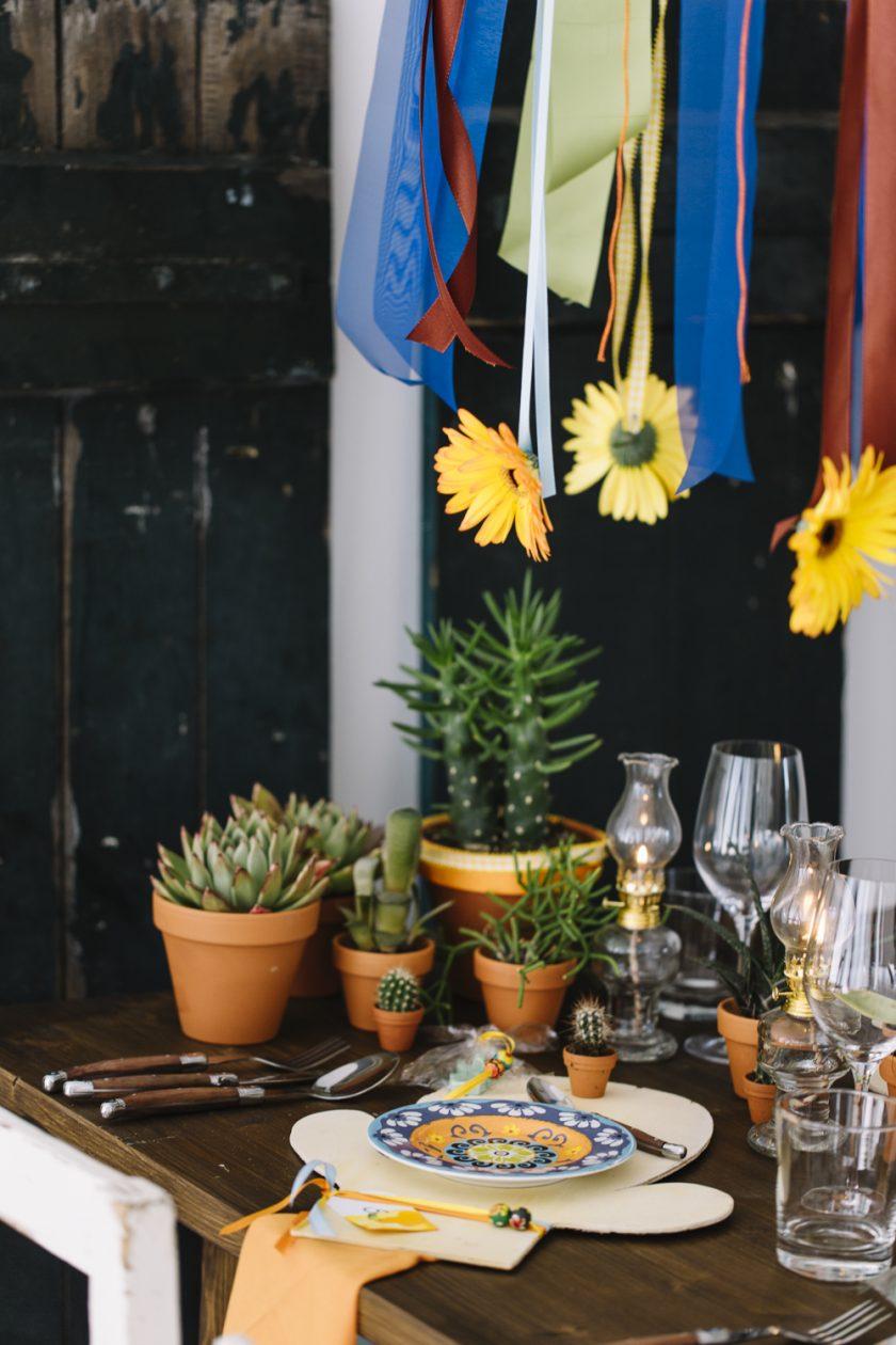 VIVA Mexiko - eine Hochzeitsdekoration