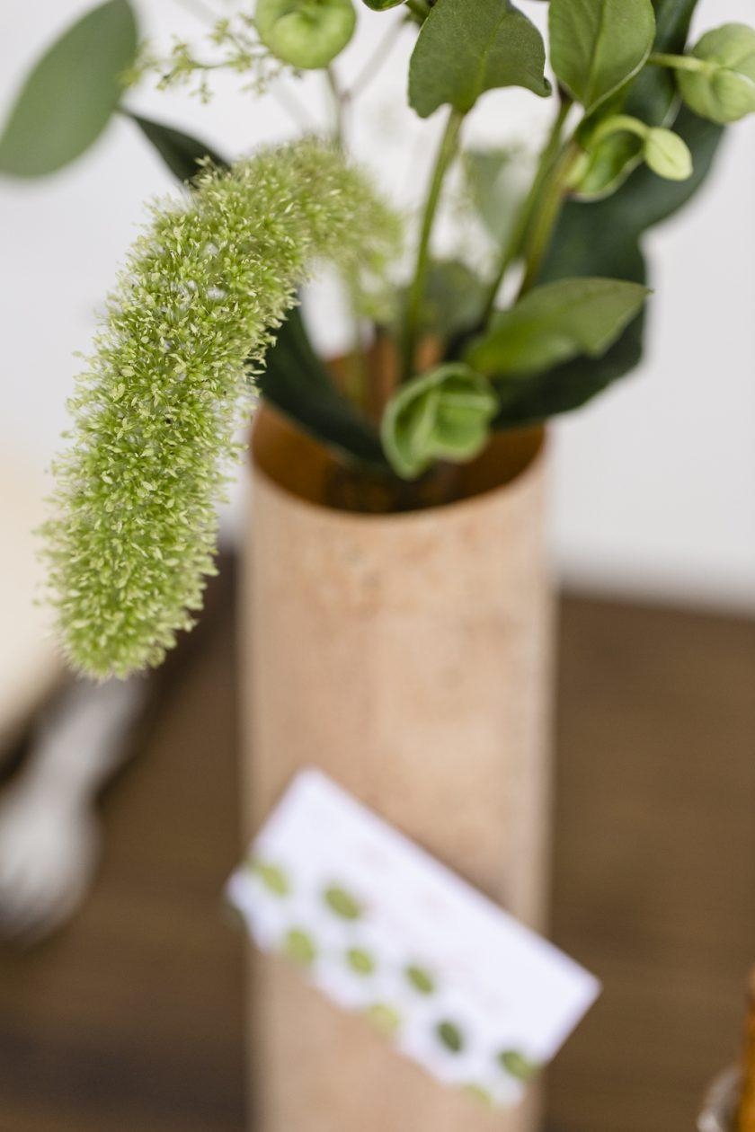 Kork und Kräuter - die DIY - Anleitungen zu unserer Hochzeitsdekoration