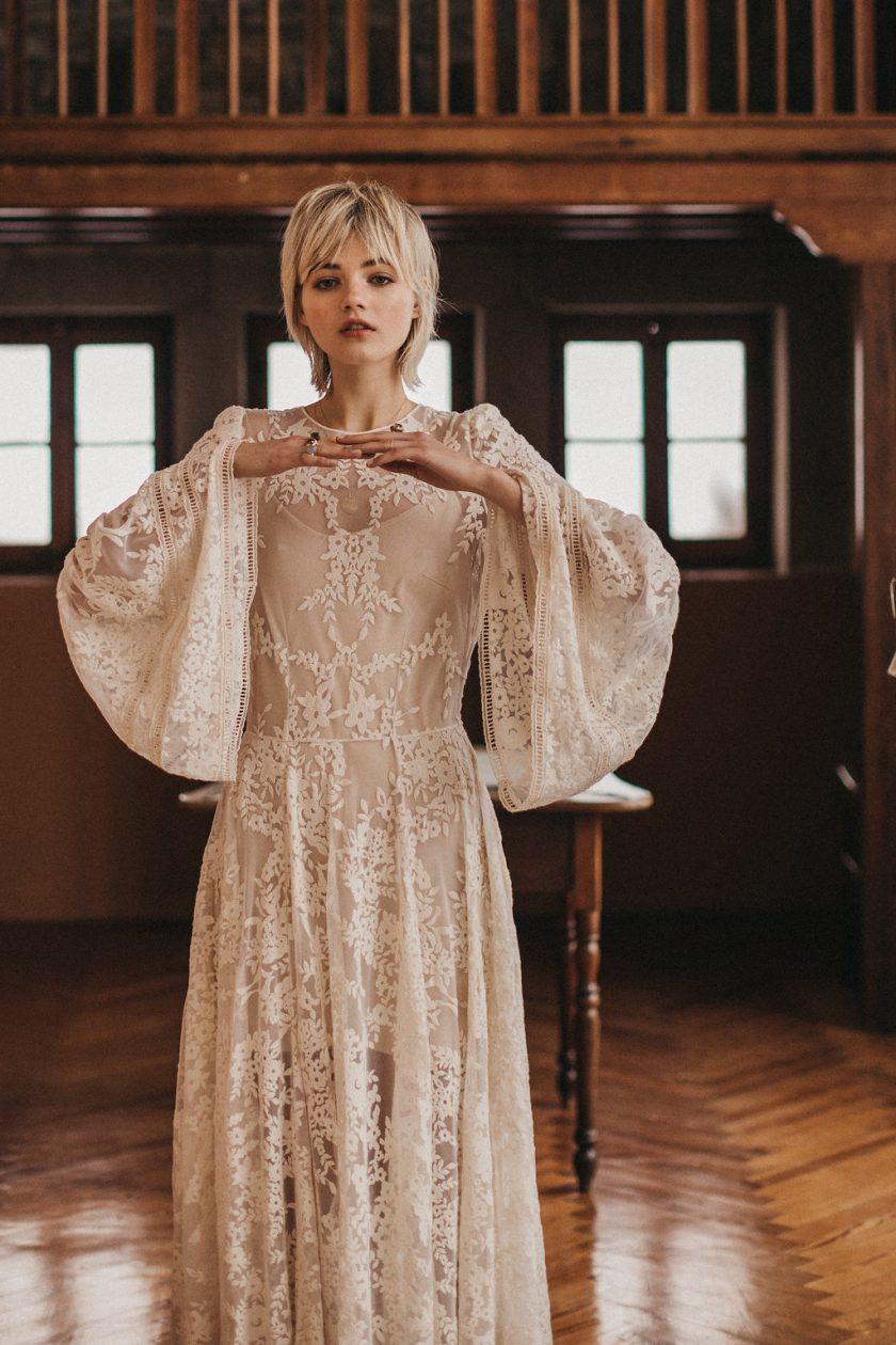SENDA - die neue Brautmodenkollektion von Immaclé Barcelona