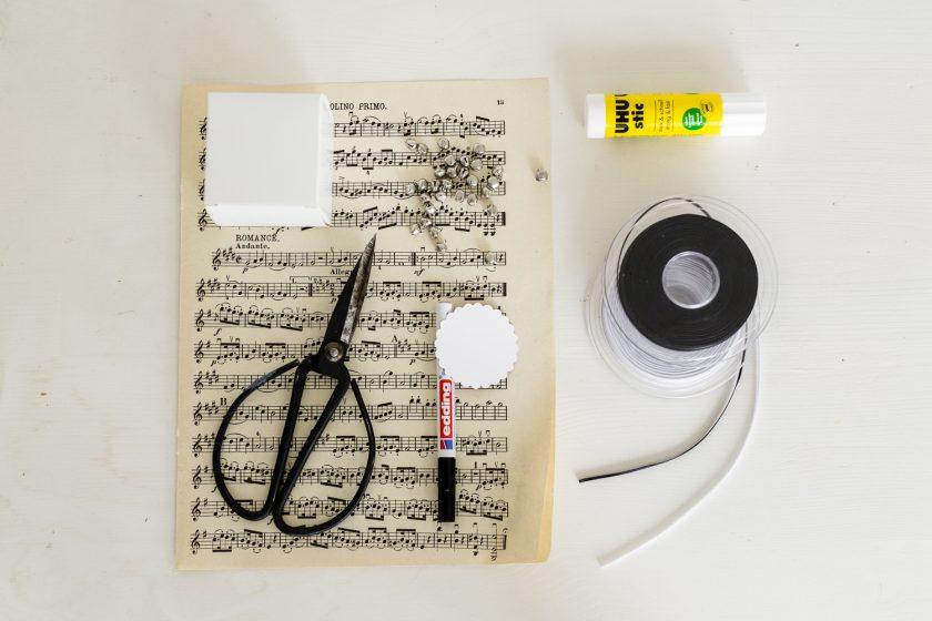 Die Steps zum Nachmachen zu unserem musikalischen DIY