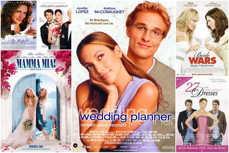 Unsere persönlichen Lieblings Hochzeitsfilme