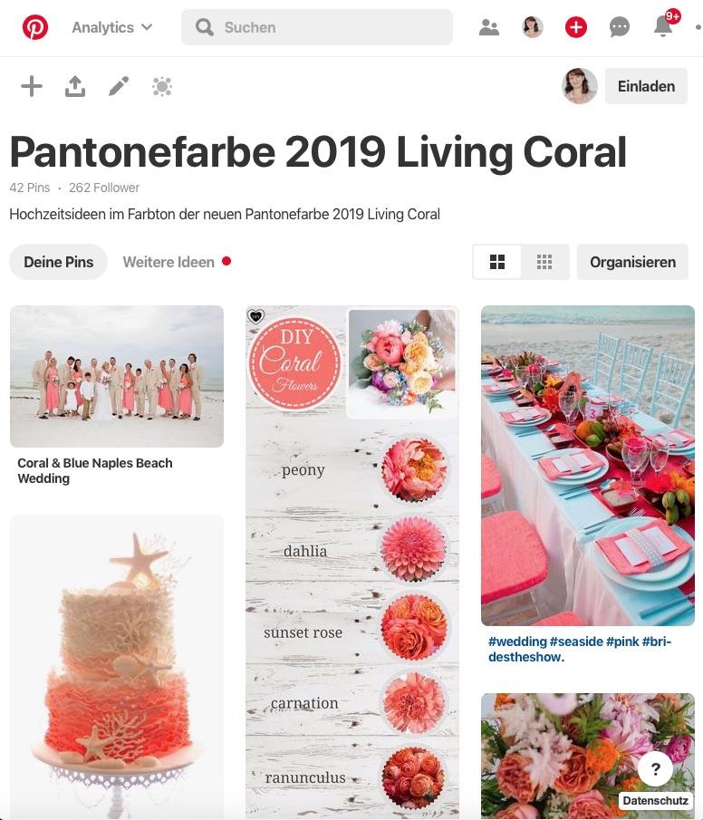Living Coral - die Trendfarbe 2019