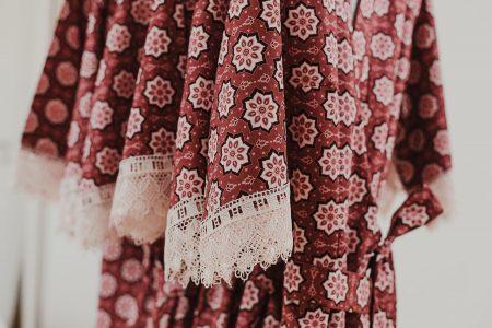 Kimono für Braut und Brautjungfer