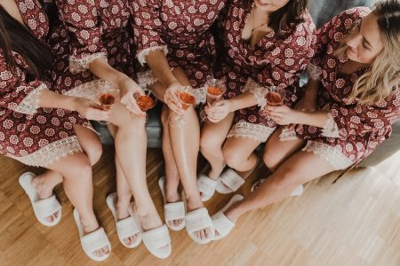 Pantoffeln Brautjungfer