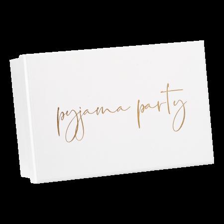 Pyjama Party Box für den Mädelsabend