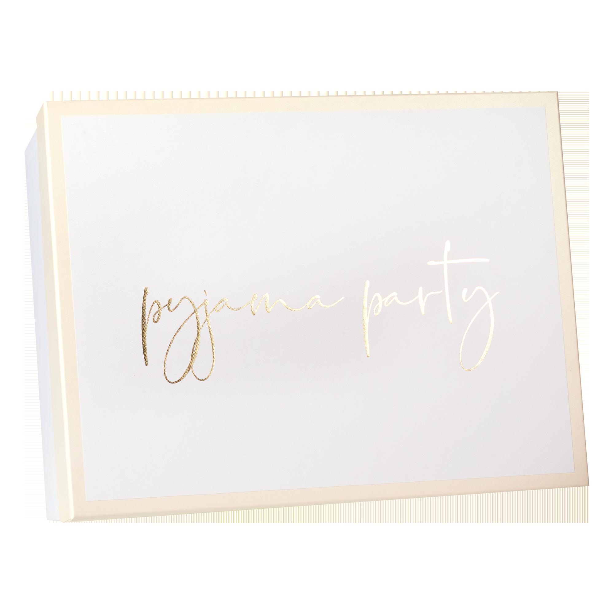 Geschenkbox | Weddingbox | Erinnerungsbox Pyjama Party, Größe L
