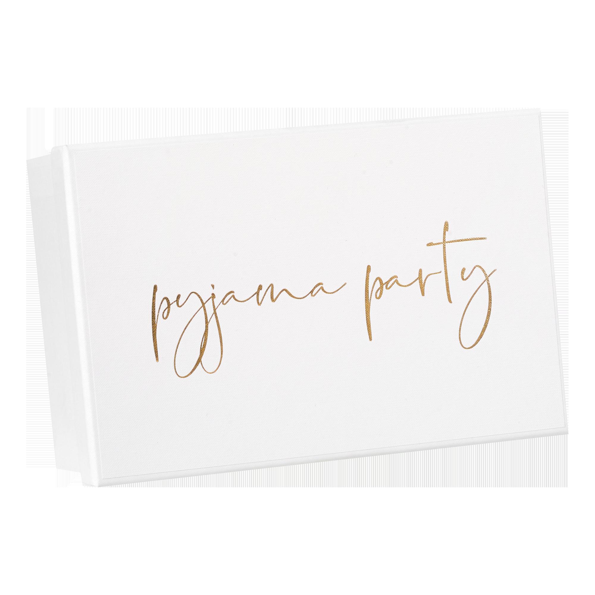 Geschenkbox | Weddingbox | Erinnerungsbox Pyjama Party, Größe S