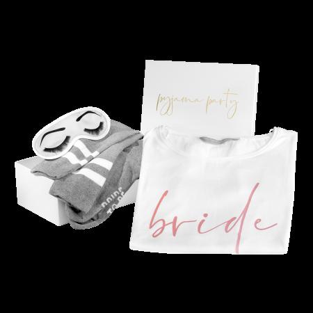 Geschenkbox Braut Pyjama Party