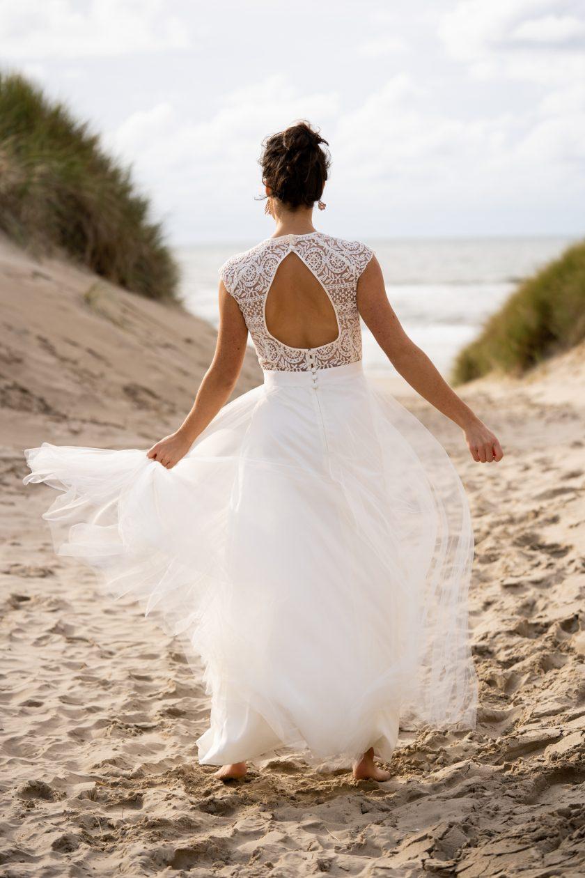 Die Federzart und Grenzenlos Brautmodenkollektion von Claudia Heller