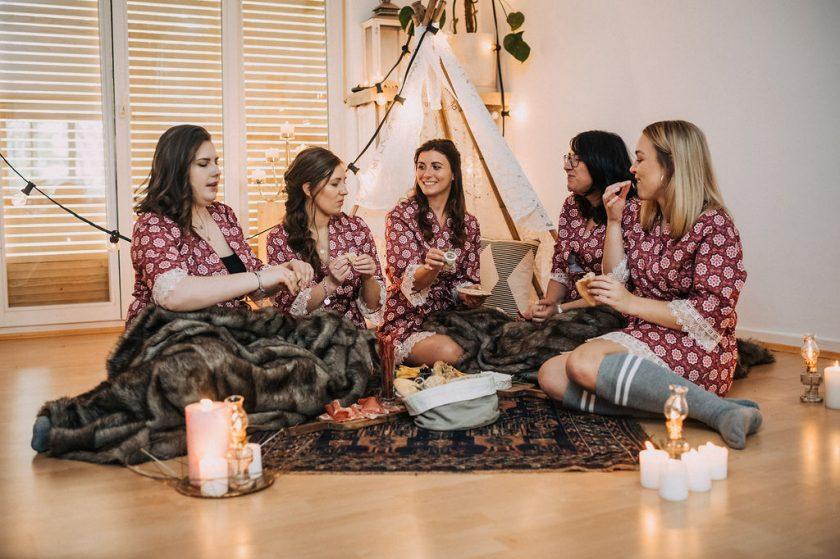 Ideen für eine Bridal Party
