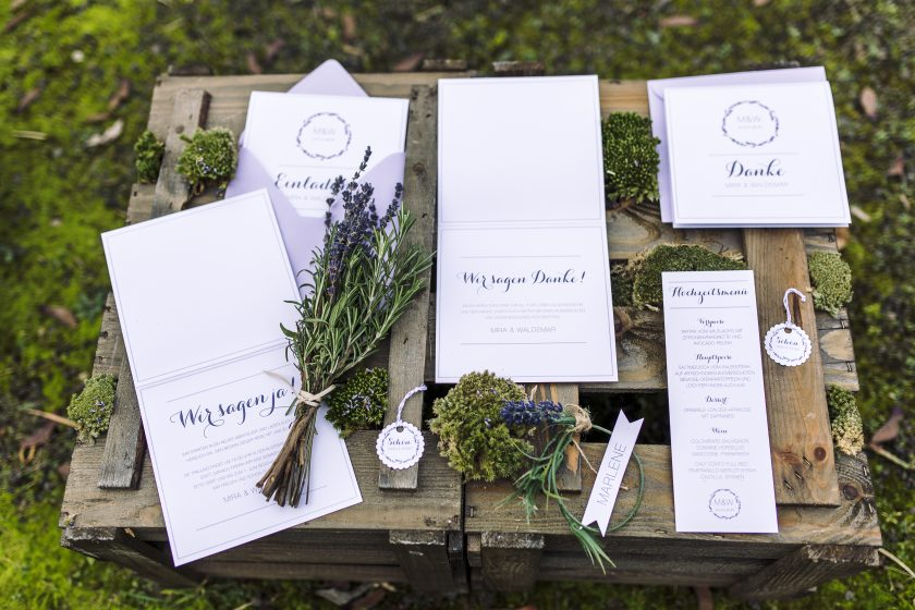 Wie finde ich die richtige Hochzeitspapeterie, die zu uns passt
