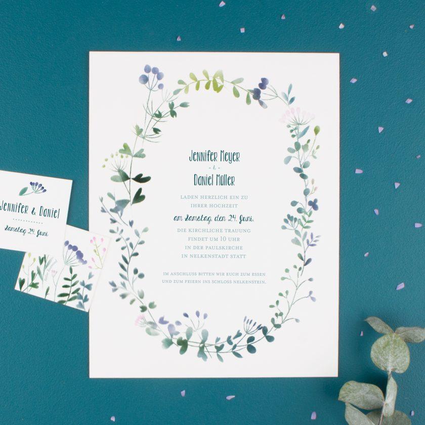 Hochzeitseinladung-hochzeitskarte-online gestalten