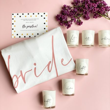 Geschenkbox-Braut-be positive-Aufmunterungsgeschenk