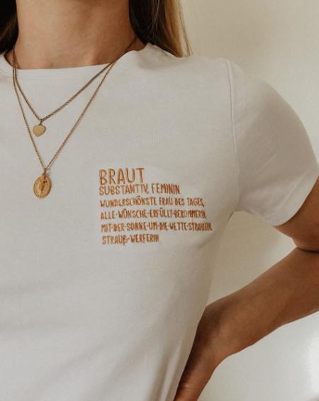 Shirt-Braut-T-Shirt