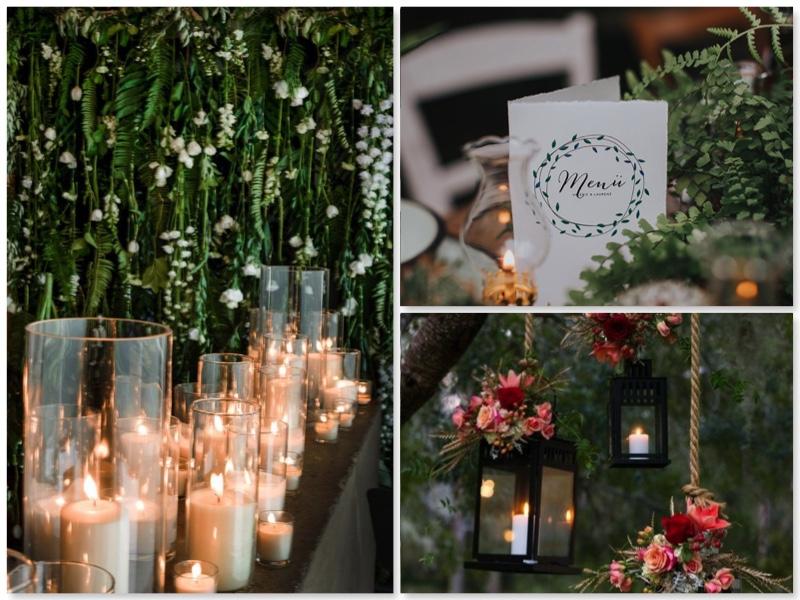 Hochzeit im eigenen Garten-Beleuchtung-Öllampe