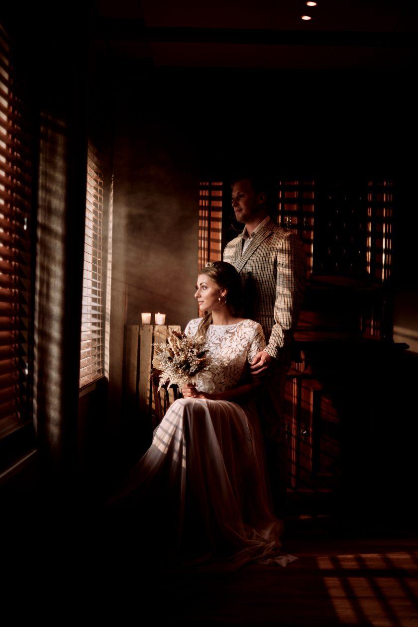 Hochzeit im rustikalen Stil-rustic wedding-Trockenblumen