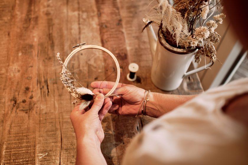 Flower Hoops-DIY-heiraten