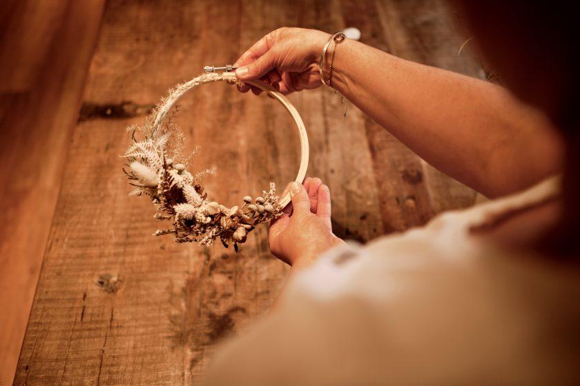 Flower Hoop-DIY-Hochzeitsdekoration-heiraten