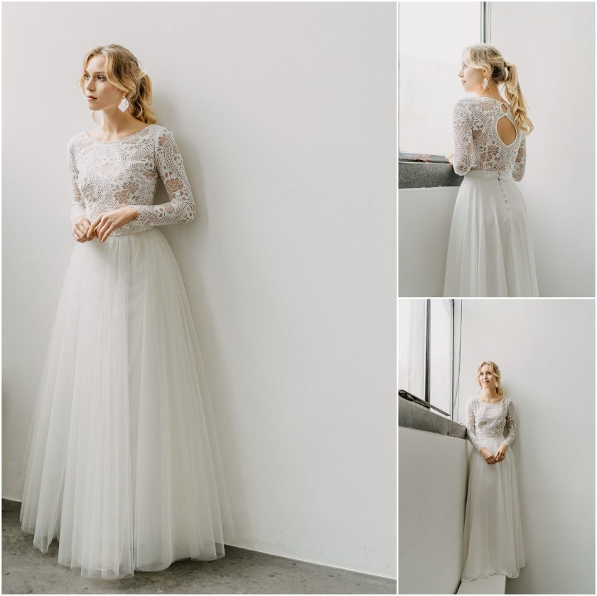 Brautmodenkollektion 2021-Claudia Heller-Hochzeitskleid-Brautkleid