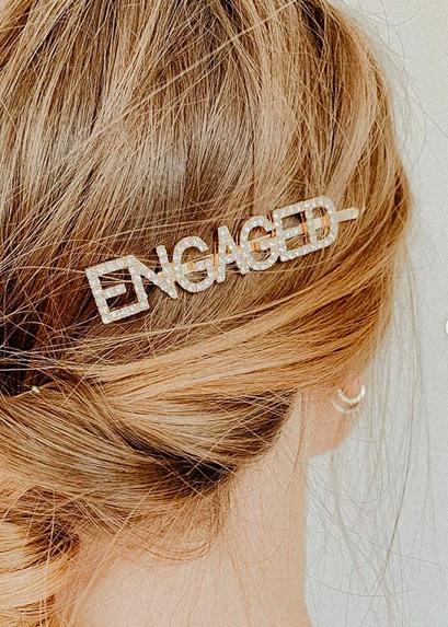 Haarspange ENGAGED