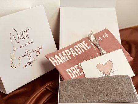 Geschenkbox-Willst du meine Brautjungfer werden ?-Brautjungfer-Geschenk