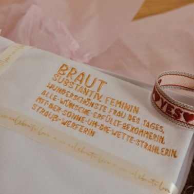 Geschenkset braut-braut-Brautgeschenk