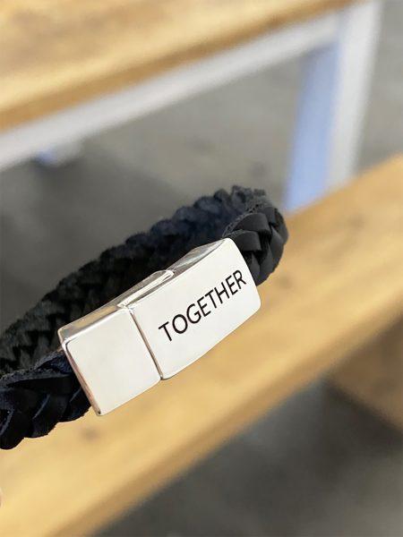 Geschenk für Sie-Lederarmband-Partnerarmband