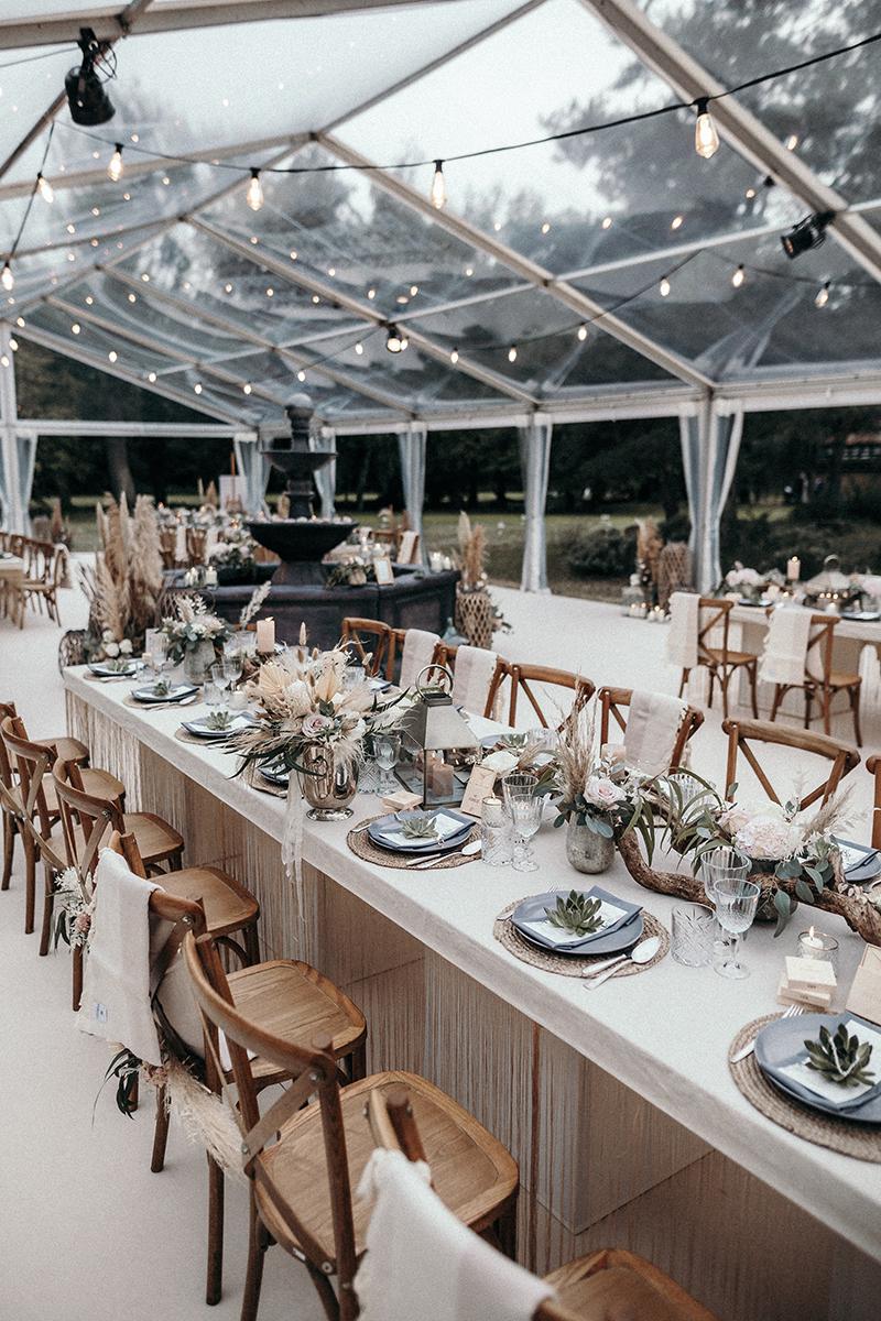 Hochzeitstrends 2020-Hochzeitstrends 2021-Zelthochzeit