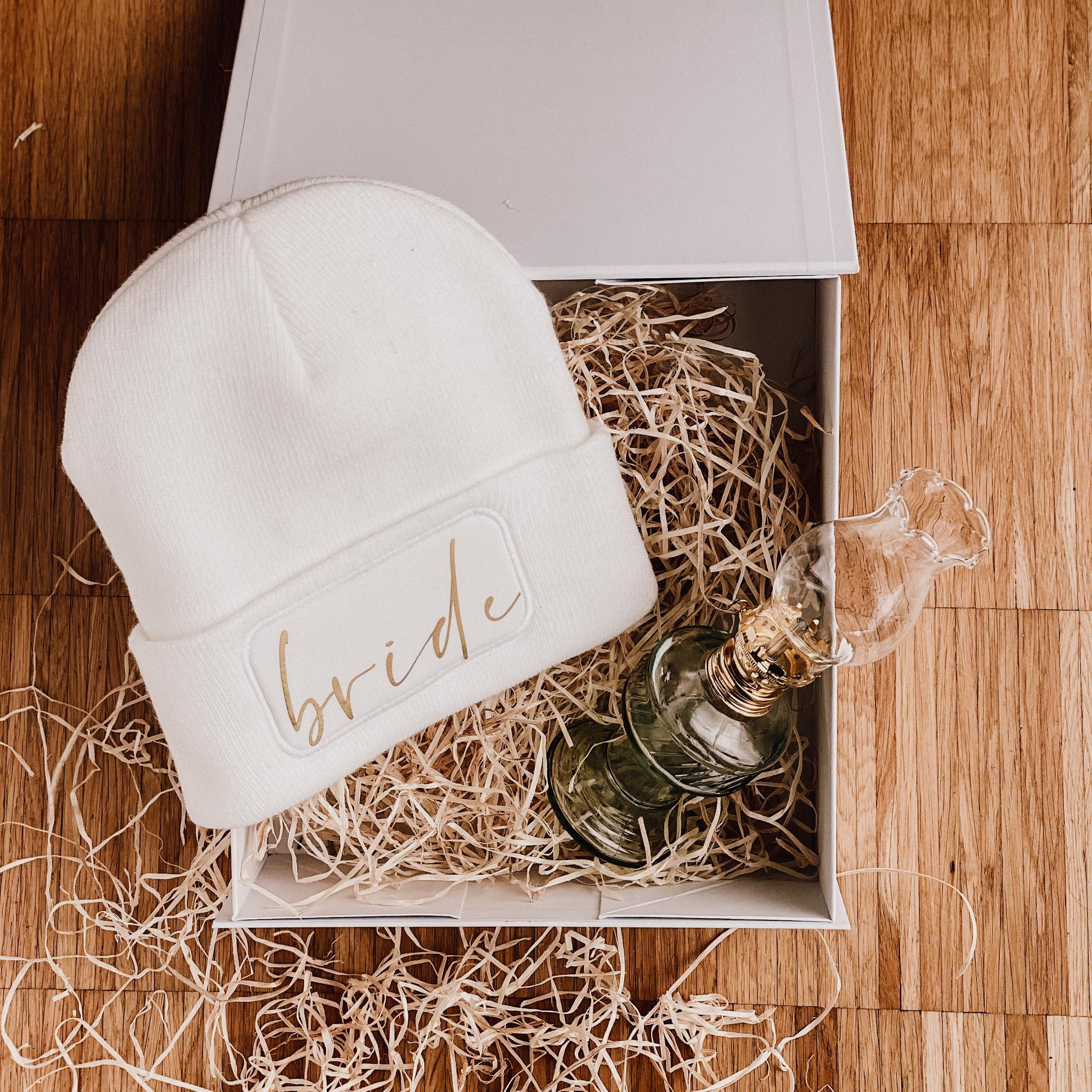 Geschenkset Cozy Bride - das perfekte Geschenk für die Winterbraut
