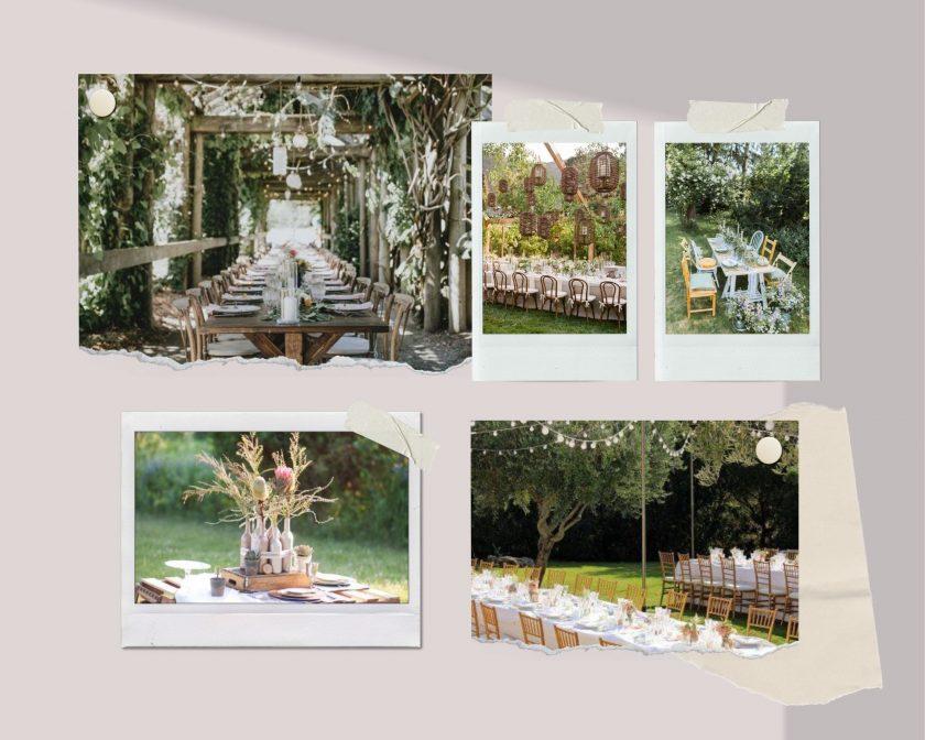 Gartenhochzeit-Hochzeit im Garten-Zelthochzeit