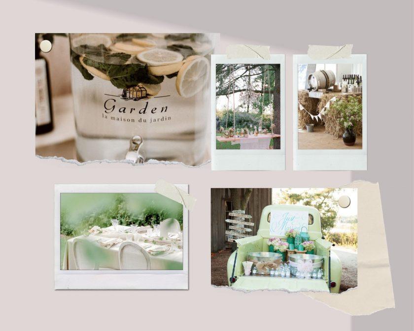Hochzeit im Garten-Sommerhochzeit-Hochzeit im Zelt