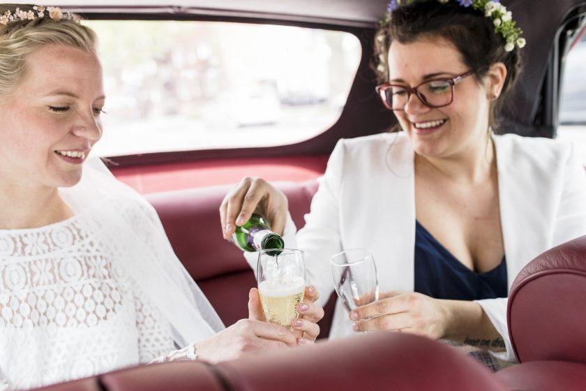 Aufgaben einer Trauzeugin-Hochzeit-Braut