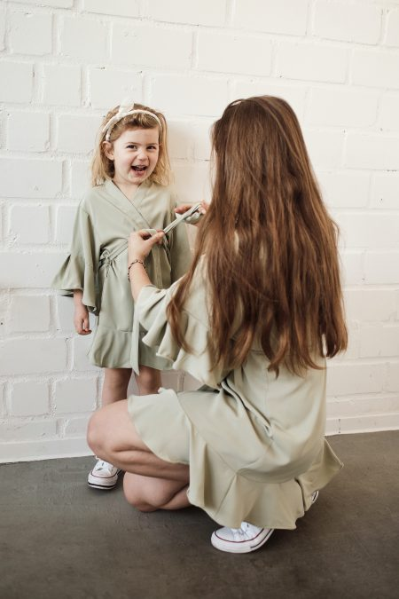 Mutter-Tochter-Look-Mini Me