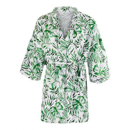 """Kimono """"wild palms""""-Getting ready-Hochzeit"""
